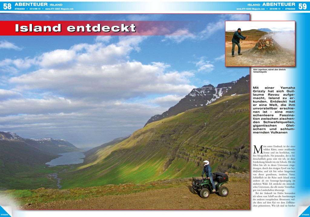 ISLAND ENTDECKT cover