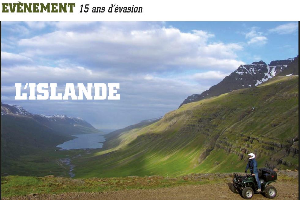 HSB Islande anniversaire QUAD PASSION MAGAZINE